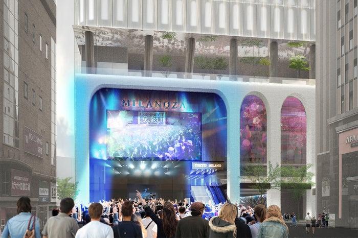歌舞伎町一丁目地区開発計画/画像提供:東京急行電鉄