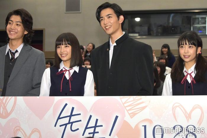 健太郎、広瀬すず、竜星涼、森川葵 (C)モデルプレス (C)モデルプレス