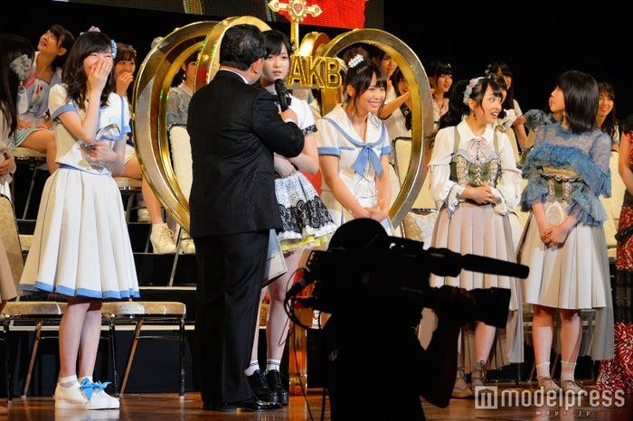 「第9回AKB48選抜総選挙」にて(C)モデルプレス