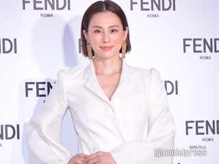 米倉涼子、FENDIジャパン初のアンバサダー就任 報道陣の多さに「凄さを実感しております」