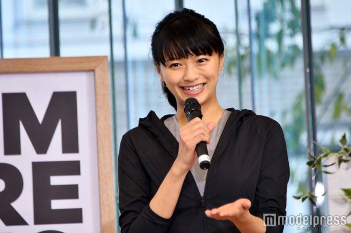 榮倉奈々「adidas Special MeCAMP with Nana Eikura」にて (C)モデルプレス (C)モデルプレス