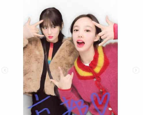TWICEモモ&ナヨン、京都で撮ったプリクラ公開「可愛すぎる」とファン歓喜