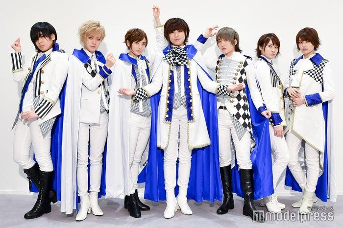 ザ・フーパーズ(左から)陽稀、Lee、星波、未来、千知、つばさ、乃愛(C)モデルプレス