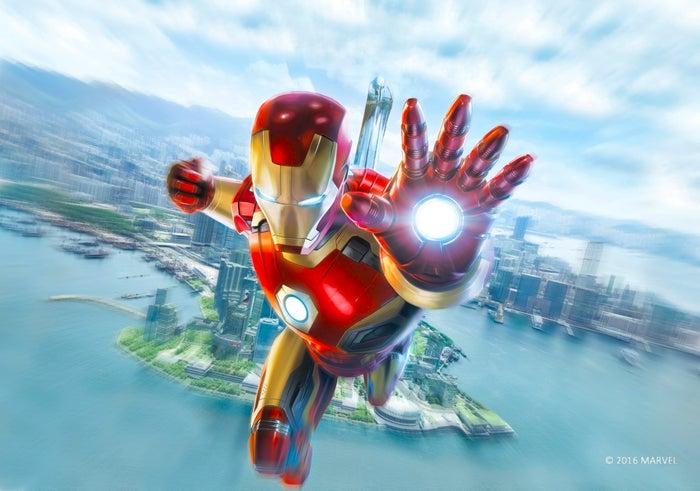 香港ディズニーランド・リゾート「アイアンマン」に新エリア誕生(C)2016 MARVEL