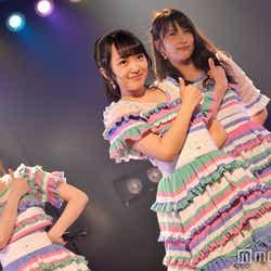 込山榛香、向井地美音、入山杏奈「バケット」/AKB48「サムネイル」公演(C)モデルプレス