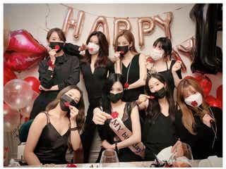 少女時代、全員集結で13周年祝う マスク姿の集合ショットに反響「いつまでも最強」