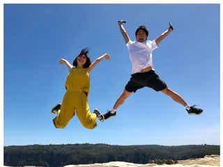 おばたのお兄さん&フジ山崎夕貴アナ、新婚旅行ショットに反響「ナイス夫婦」