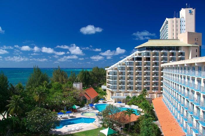 最高の立地とマイクロビーチを眼下に望む人気ホテル、グランヴィリオリゾートサイパン(C)マリアナ政府観光局/MVA