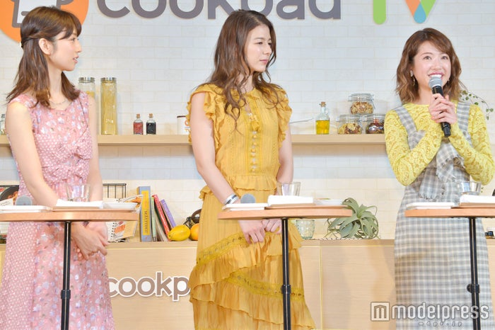 (左から)小倉優子、スザンヌ、くみっきー (C)モデルプレス