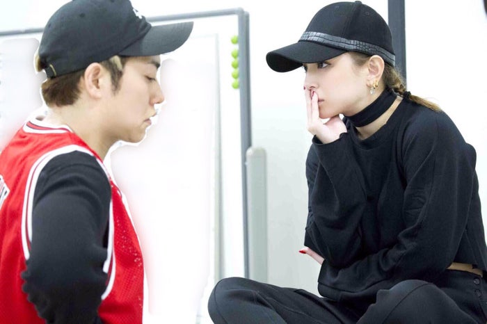 12月18日ダンスリハーサル/ダンサーのKO、浜崎あゆみ(画像提供:avex)