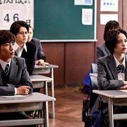 鈴鹿央士、加藤清史郎、平手友梨奈「ドラゴン桜」第9話より(C)TBS