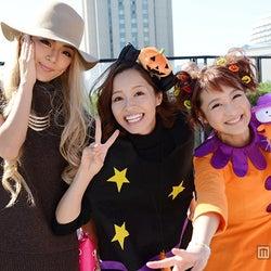 小森純&鈴木奈々&みかん、日本最大級のハロウィーン「T-SPOOK」2日目も仮装パレード参戦 そっくり過ぎるGENKINGも