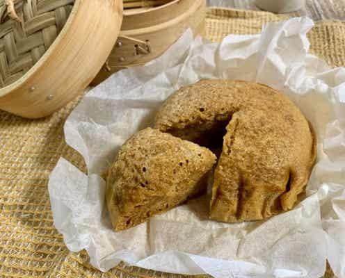 ホットケーキミックスで簡単なのにふんわりもっちり!中華蒸しパン「マーラーカオ」