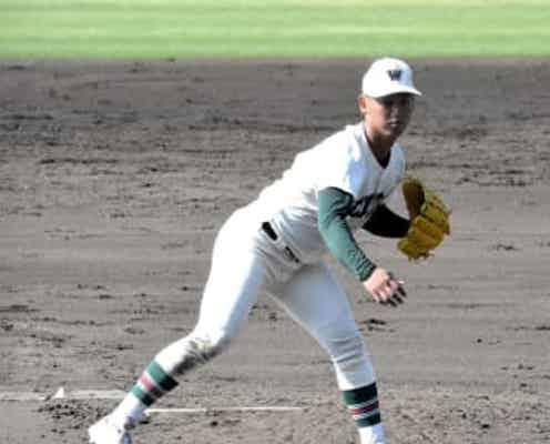 プロ注目の市和歌山・米田が9回1失点完投 小園先輩から刺激「自分もそんな投手に」
