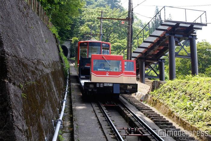 立山ケーブルカー(C)モデルプレス