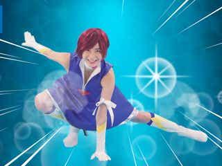 小倉優香、キューティーハニーに変身 SEXY衣装で華麗なアクション