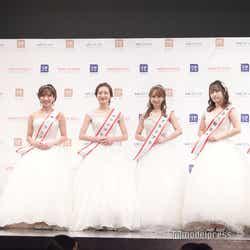 仲間由依さん、小川奏さん、神谷明采さん、山本瑠香さん、松本美紅さん、木原渚さん(C)モデルプレス