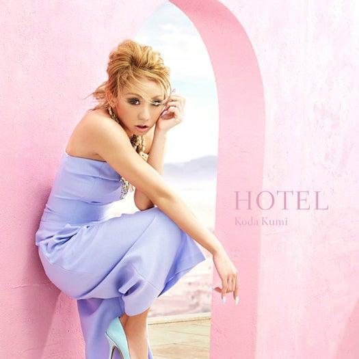 倖田來未「HOTEL」 CD+DVD  ※ファンクラブ「倖田組」/「playroom」限定盤(8月6日発売)