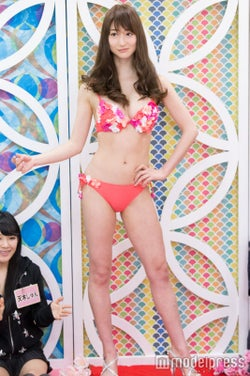 松山英礼奈/水着提供:HOYUKI (C)モデルプレス