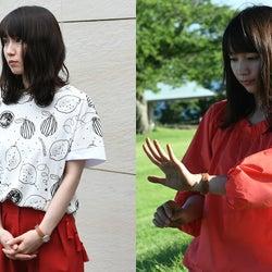 「ごめん、愛してる」吉岡里帆の第3話ファッションを解説 ビビッドカラーを上手に取り入れて<本人コメント>