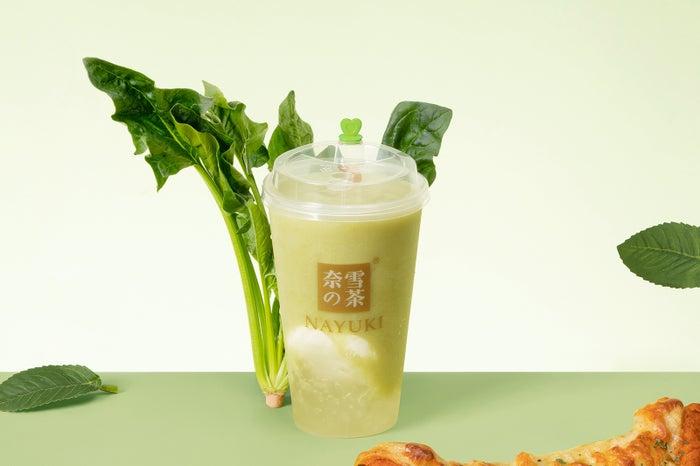 アボカドココナッツアイスクリームティー(750円)/画像提供:品道