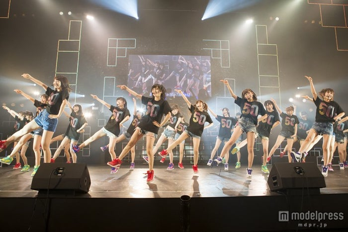 「NMB48 リクエストアワー セットリスト ベスト50 2014」2日目公演(C)NMB48