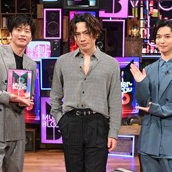 田中圭、登坂広臣、千葉雄大(C)日本テレビ