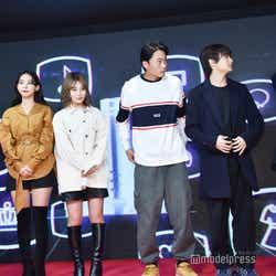 (左から)宮瀬いと、ミチ、浪花ほのか、Kaya、黒田昊夢、竹内唯人(C)モデルプレス