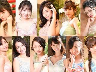 """""""日本一ドレスが似合う女子高生""""が決定 「女子高生ミスコン」ファイナリスト、大幅イメチェン"""