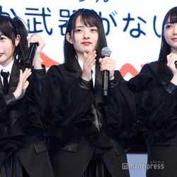 ラストアイドル2期生/橋本桃呼、水野舞菜、篠田萌(C)モデルプレス