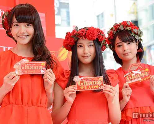 長澤まさみ・武井咲に続く、注目の美女たちが美脚全開 母とのエピソード披露