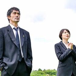 阿部寛、長澤まさみ「ドラゴン桜」第9話より(C)TBS