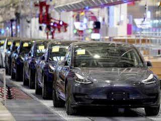 テスラ、GMフォード合計を抜く 時価総額、業界の新旧交代
