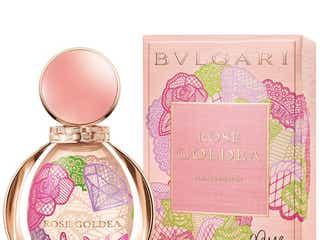 ブルガリの香り「ローズ ゴルデア」のフラコンをキャサリン・カイがデザイン。