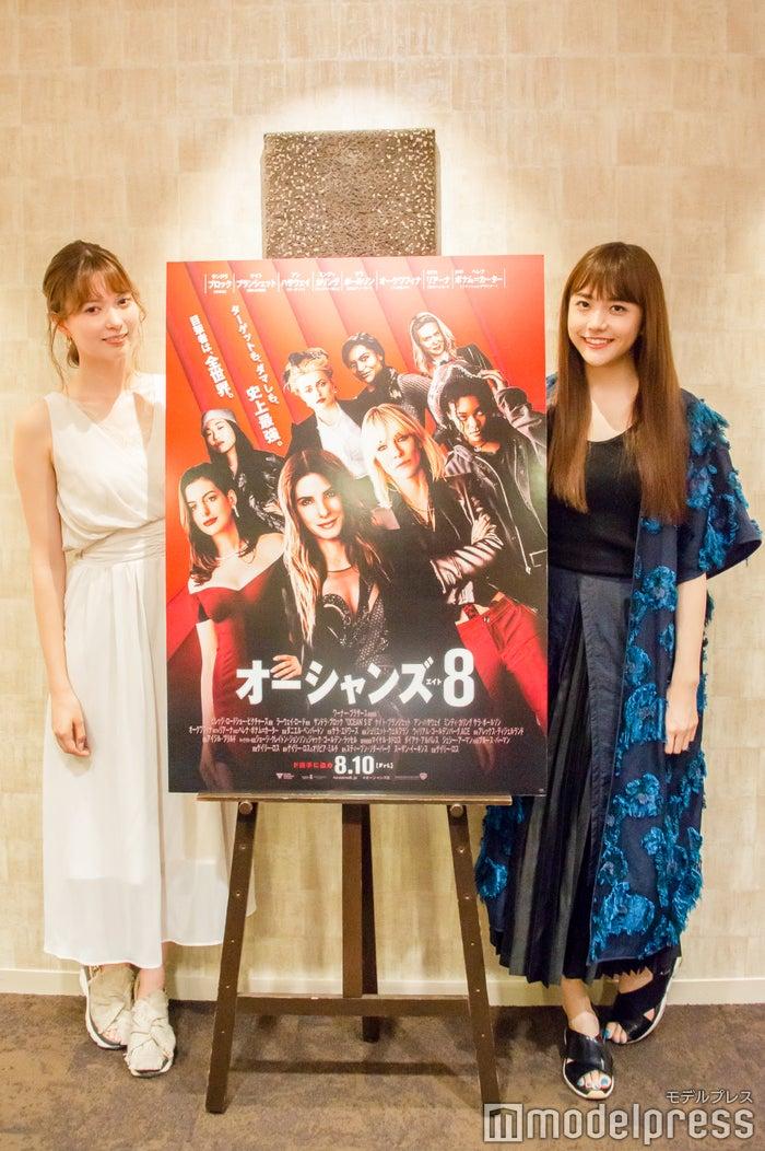 八木アリサ、松井愛莉(C)モデルプレス