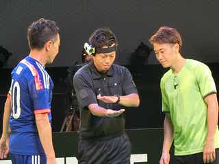 木梨憲武、香川&武藤とサッカー対決「このメンバーとできるのは最高!」