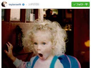 テイラー・スウィフト、バースデーで幼少期の写真公開「可愛すぎる」「お茶目」の声