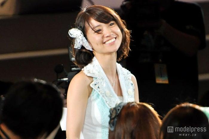 1位を獲得した瞬間の大島優子「AKB48 27thシングル選抜総選挙」