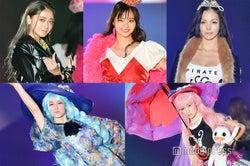 左上から時計回りに:みちょぱ、新川優愛、土屋アンナ、藤井サチ、トラウデン直美(C)モデルプレス