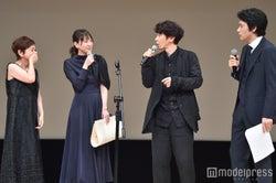 大竹しのぶ、新垣結衣、ユースケ・サンタマリア、松山ケンイチ (C)モデルプレス