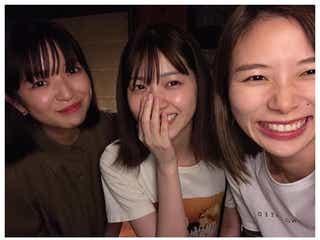 西野七瀬、朝日奈央&田中芽衣との3ショット公開 プライベート交流に反響