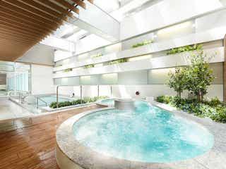 「泉天空の湯 有明ガーデン」日帰り入浴で露天風呂やサウナでリフレッシュ