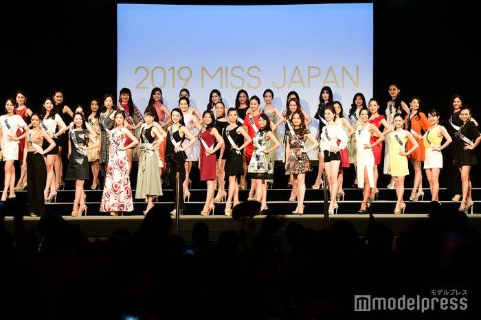 「2019 ミス・ジャパン 日本大会」 (C)モデルプレス