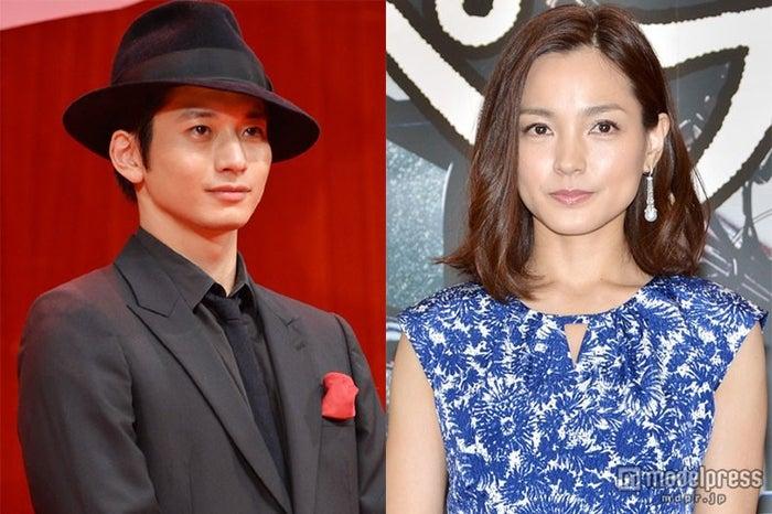 結婚を発表した向井理(左)と国仲涼子(右)【モデルプレス】