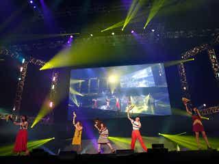 Little Glee Monster、アカペラで歌声響かす 新曲披露で会場をひとつに<LIVE MONSTER LIVE>