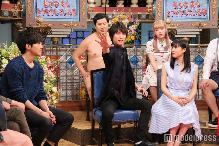 松坂桃李、福士蒼汰、土屋太鳳(C)日本テレビ