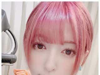 神田沙也加、ピンクショートヘアに大胆イメチェン「一花姉さんが好きすぎて」