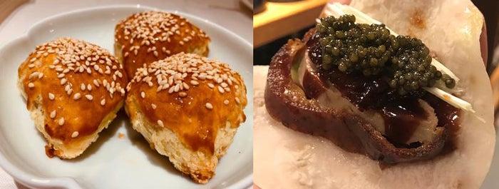 ヴェニソンパフ-鹿肉のパイ包、クリスピーダック キャビアを添えて/画像提供:アイエムエムフードサービス