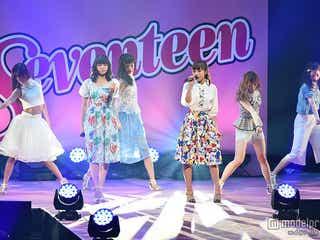 Flower「白雪姫」「Blue Sky Blue」に会場うっとり<Seventeen 夏の学園祭2015>