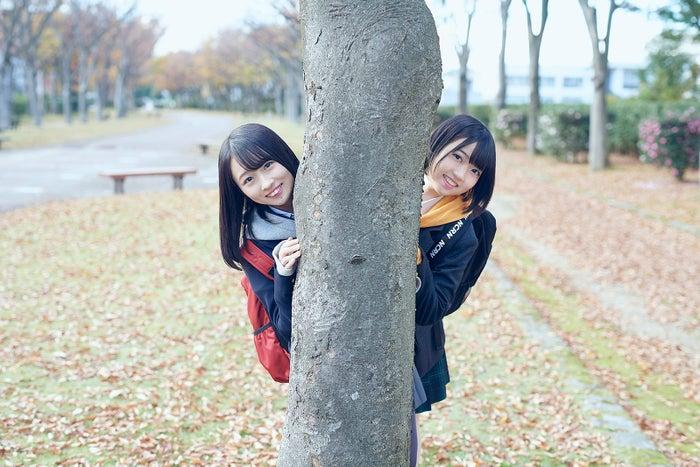 (左から)松田祐実、多田京加 Fortune cherryアーティスト写真(C)You, Be Cool!/KING RECORDS